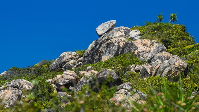 Những tảng đá thách thức trọng lực trên đảo ở quy nhơn bình định - 1